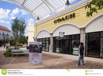 park deer coach ny mall shopping outdoor tanger outlet island factory near july long