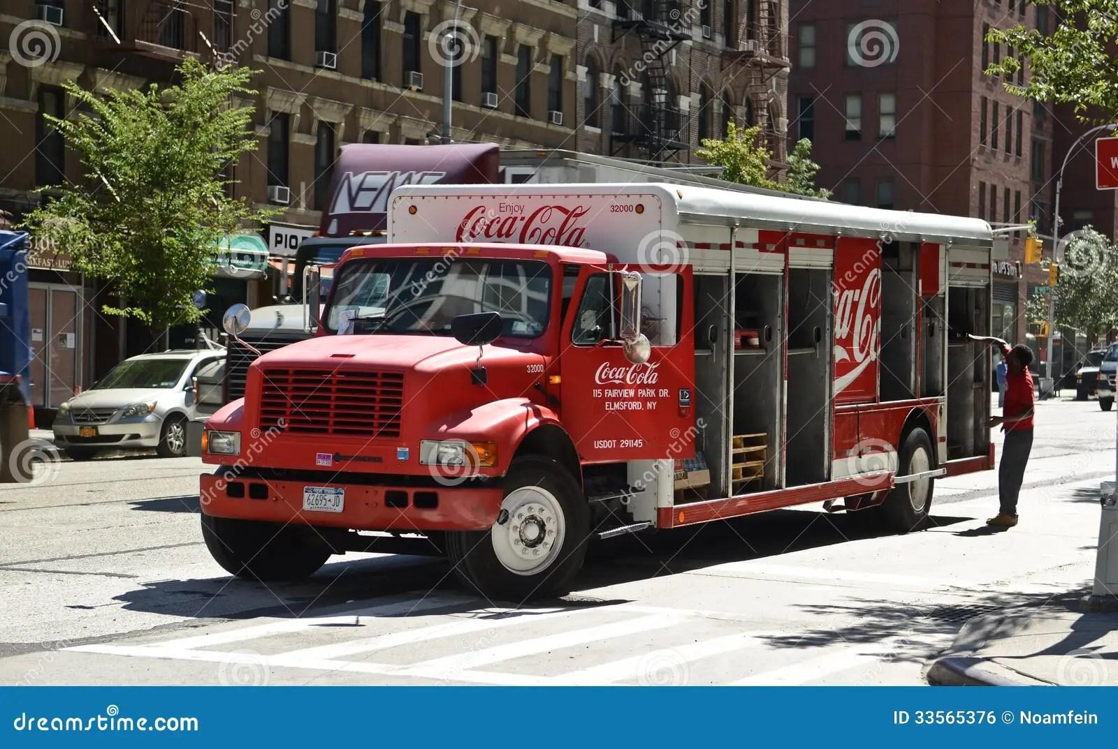 Coca Cola Delivery Truck Editorial Photo Image Of Coke