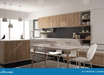 Cocina Diseño Blanca Y Gris | Cautivante Calmante Fotos De ...