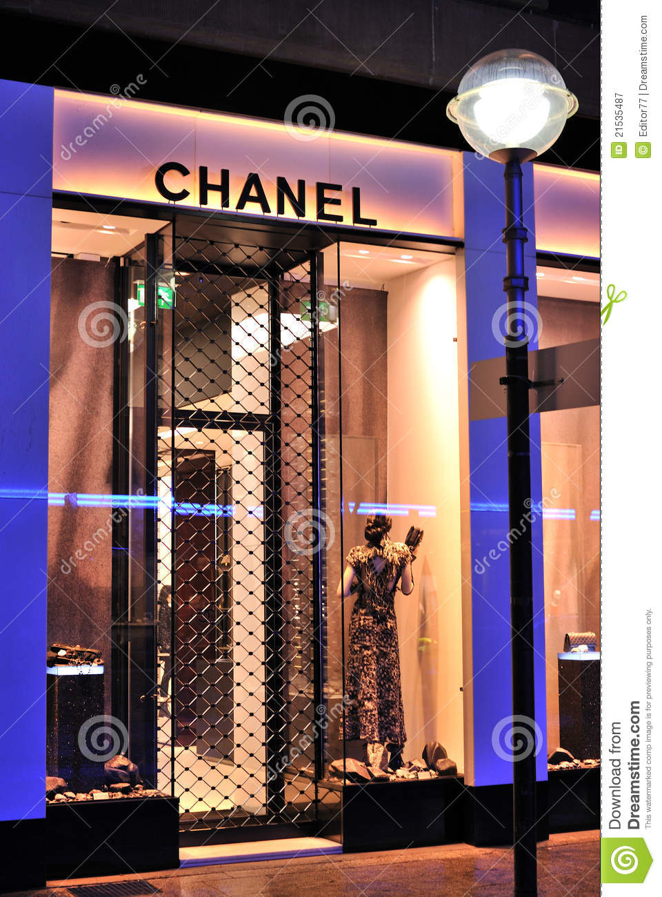 Coco Chanel Fashion Store Editorial Photography  Image