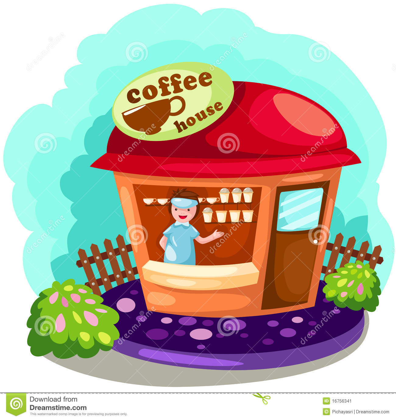 hight resolution of coffee shop