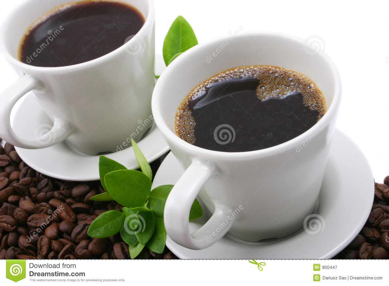 Coffee for two stock image Image of caffeine breakfast