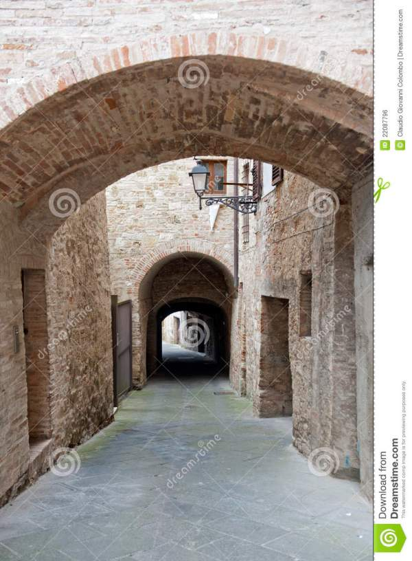 Colle Di Val D39Elsa Siena Tuscany Royalty Free Stock