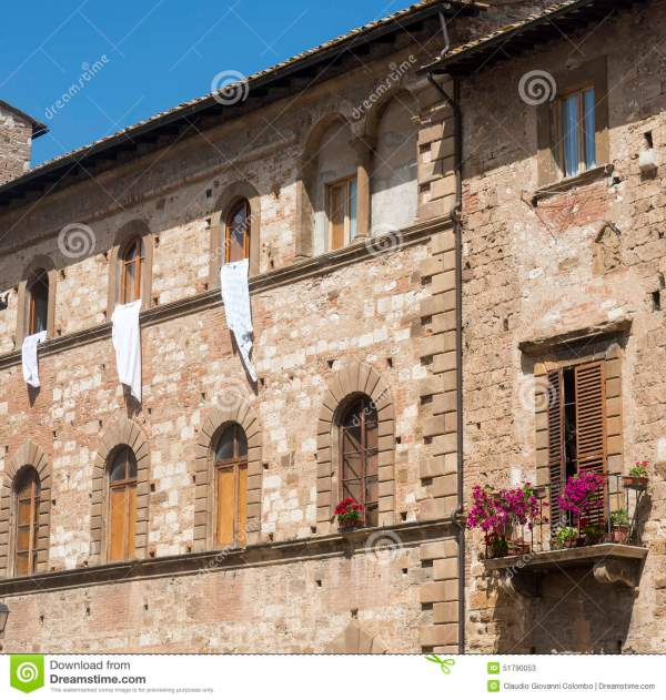 Colle Di Val D39Elsa Tuscany Stock Image Image of siena