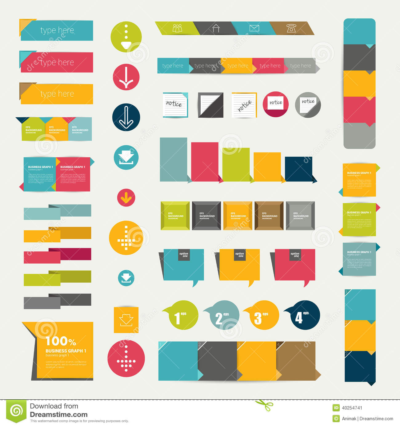 color combinations for diagram crx wiring collections of infographics flat design diagrams stock
