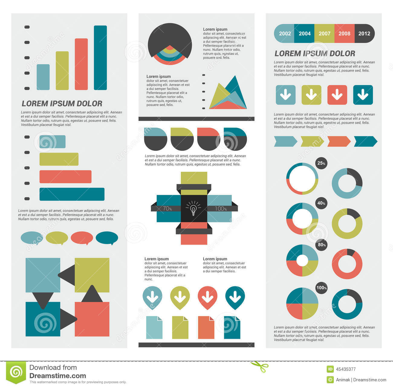 color combinations for diagram rs485 to rs232 converter circuit infographics collections vector illustration cartoon