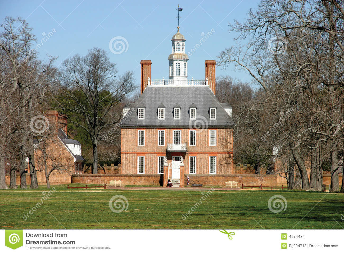 Colonial Williamsburg Stock Images  Image 4974434