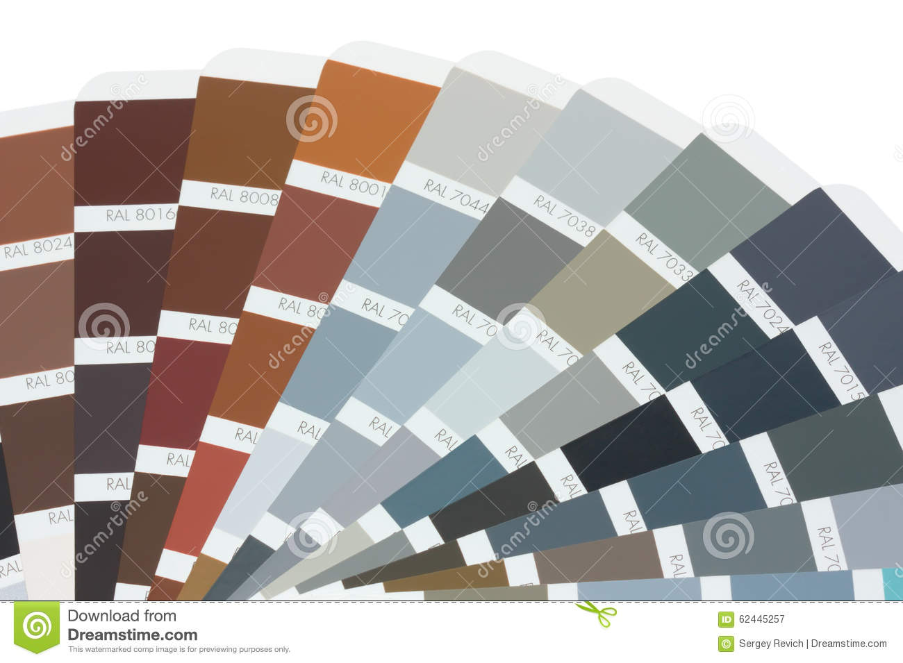 Download Color Card Ral Editorial Photography. Image Of Chart - 62445257
