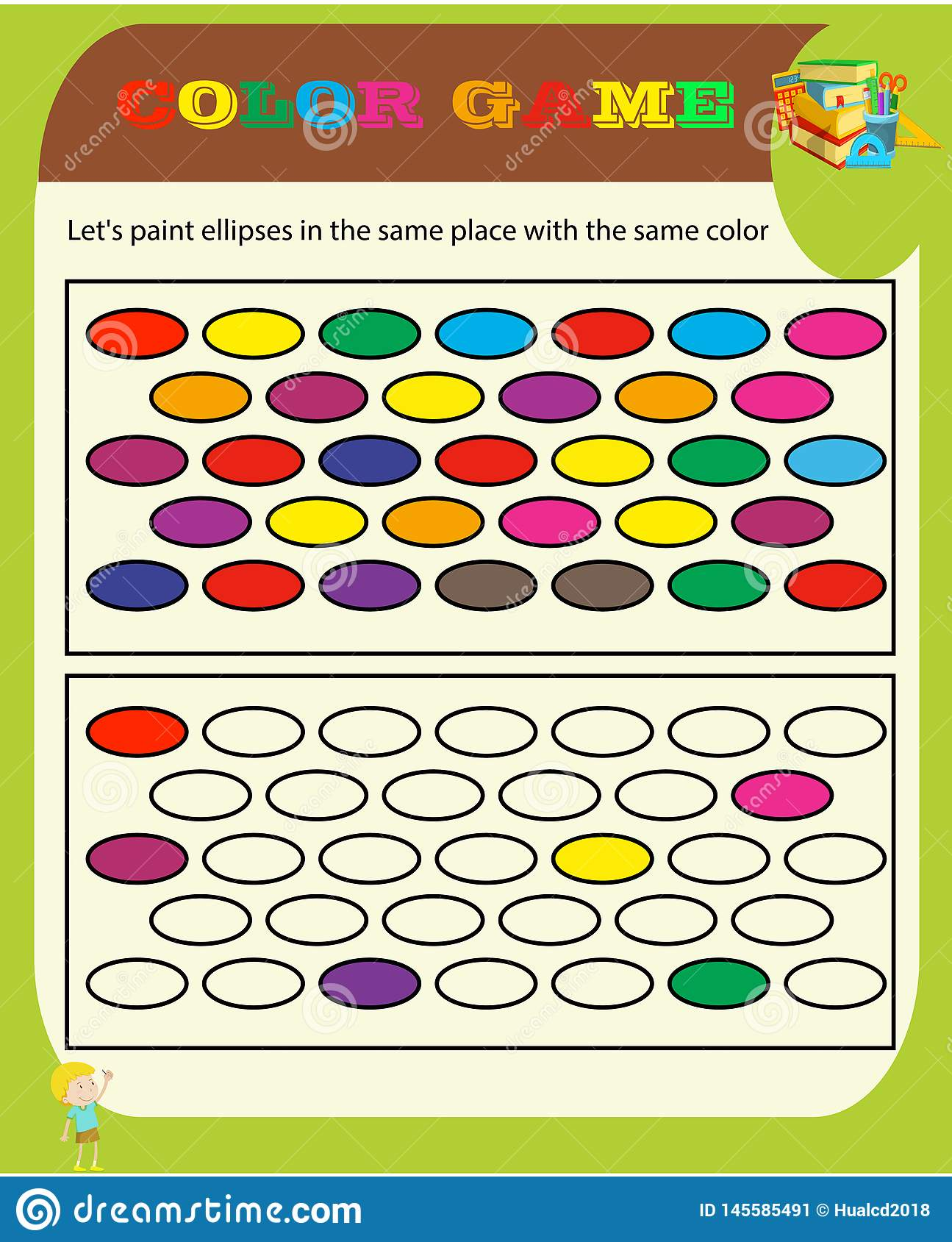 Color Game Sudoku Game With Pictures For Children Easy