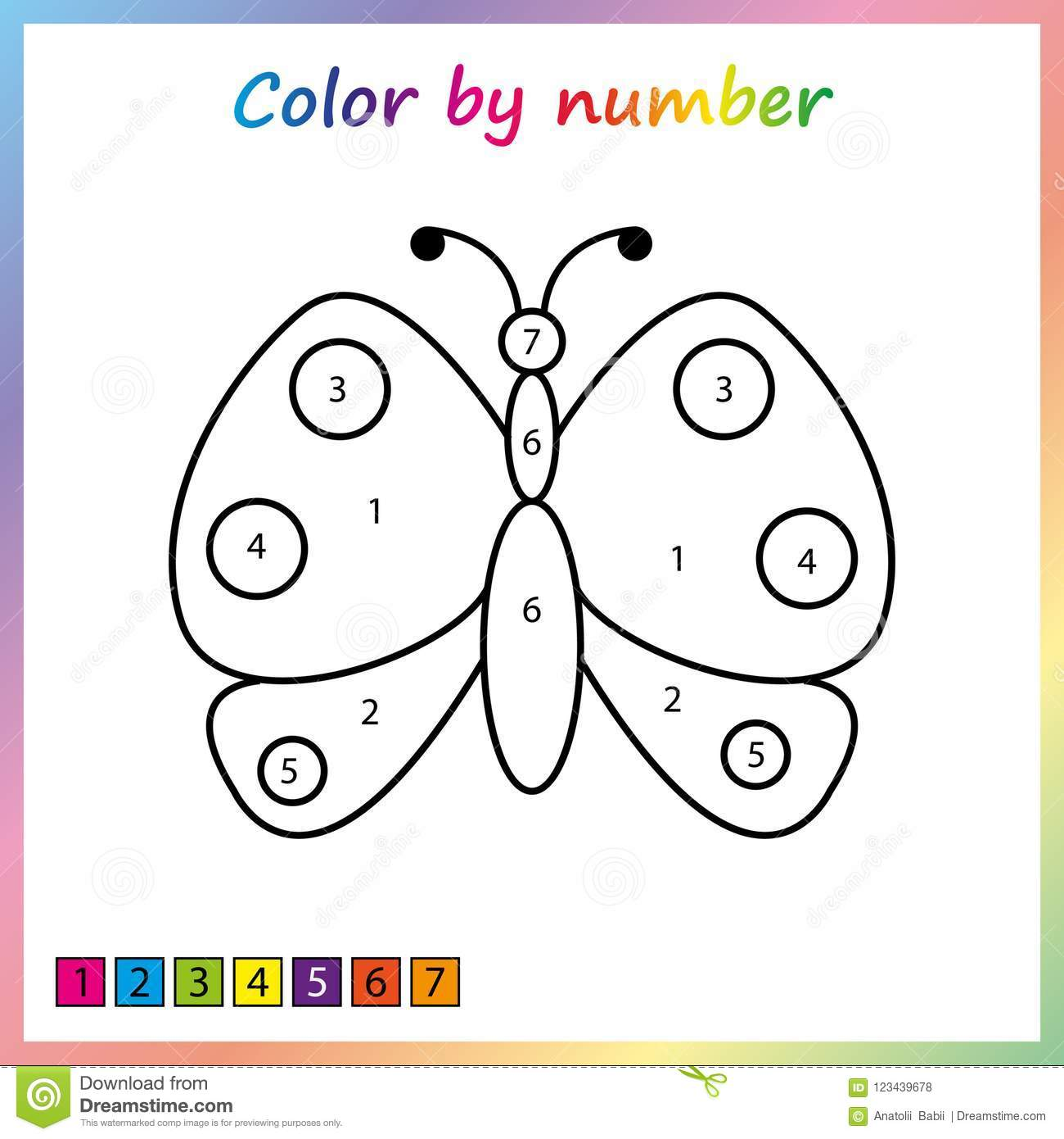 Color Preschoolers For Redworksheet