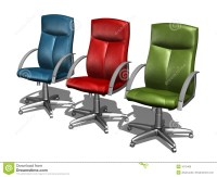 COLOR Office Chairs Royalty Free Stock Images - Image: 1013409