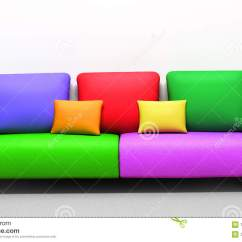 Cream Colored Sofa Pillows Somette Grande Down Wrapped Grey Fabric Sectional Royalty Free Stock Photos Image 16746758