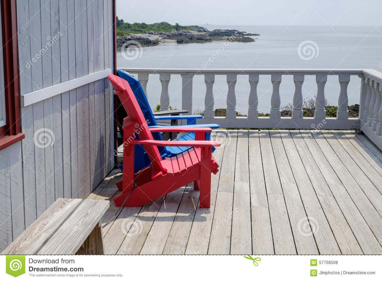 Colorful Wooden Chairs Colorful Adirondack Deck And Beach Chairs In Bright Red