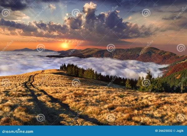 Colorful Autumn Landscape Stock - 26625032