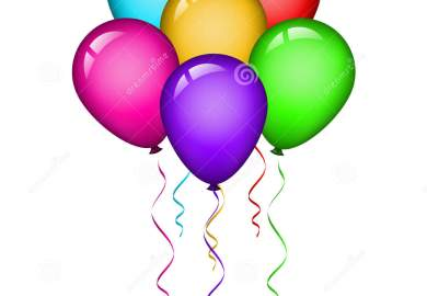 Balloons Birthday Stock Photos Royalty Free Images
