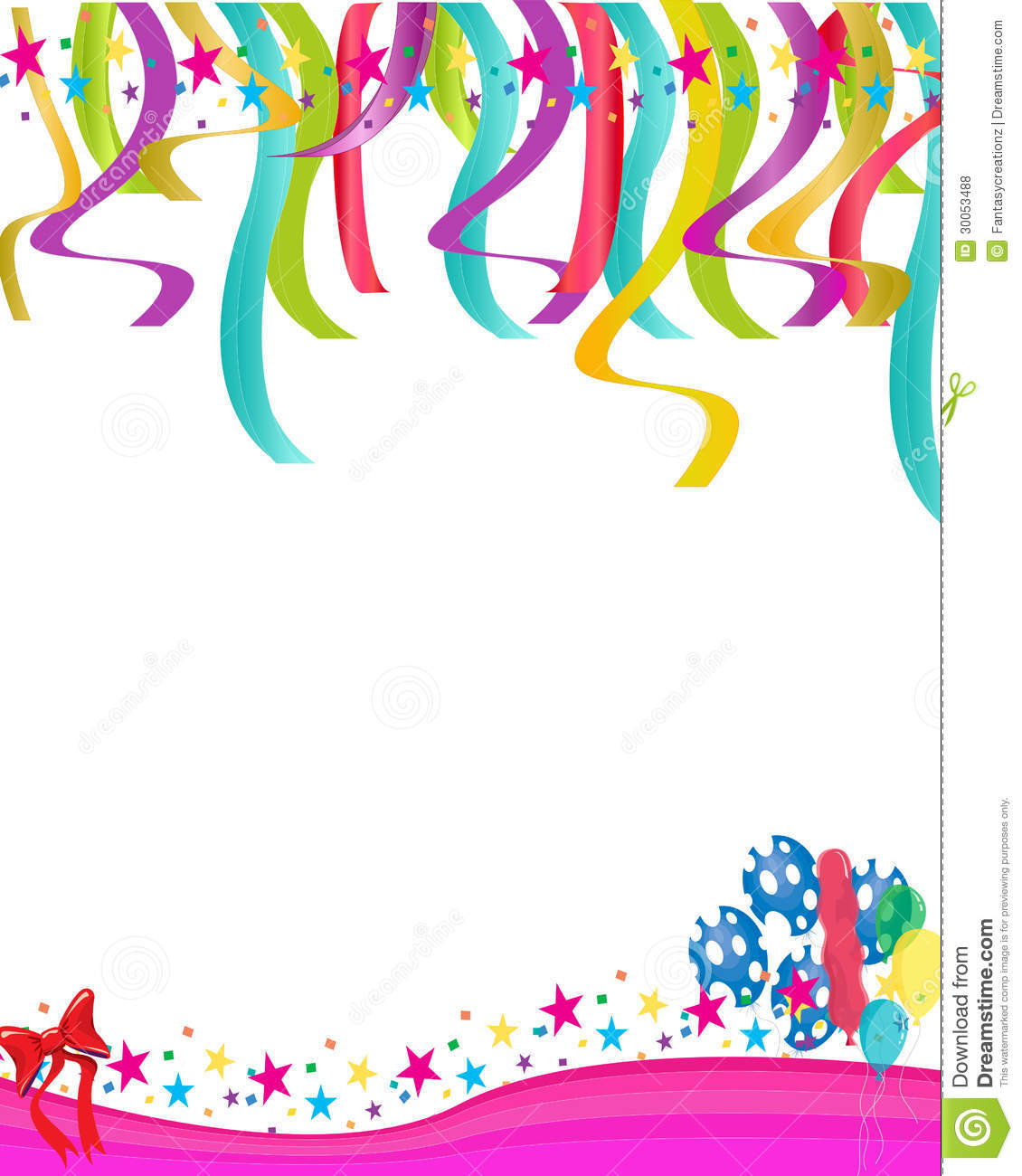 This template has a festive yet sophisticated design for parties and even concerts. Party Invitation Stock Vector Illustration Of Holidays 30053488