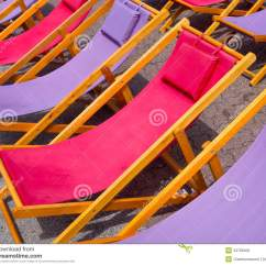 Pink Beach Chair Wheelchair With Toilet Colorful Chairs Background Stock Photo Image 34709402