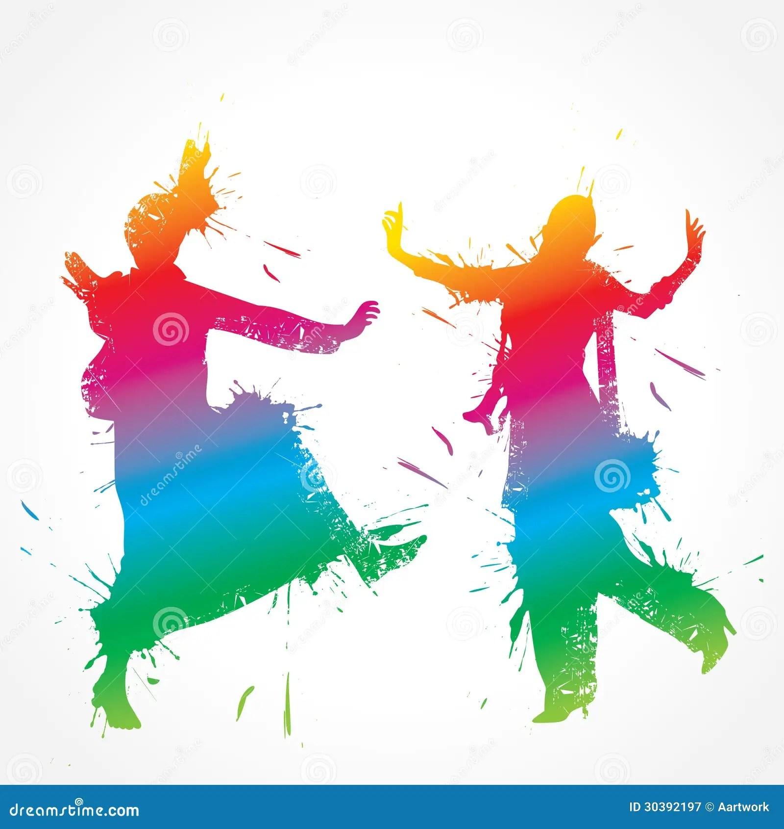 Punjabi Boy And Girl Wallpaper Colorful Bhangra And Gidda Dancer Stock Vector Image