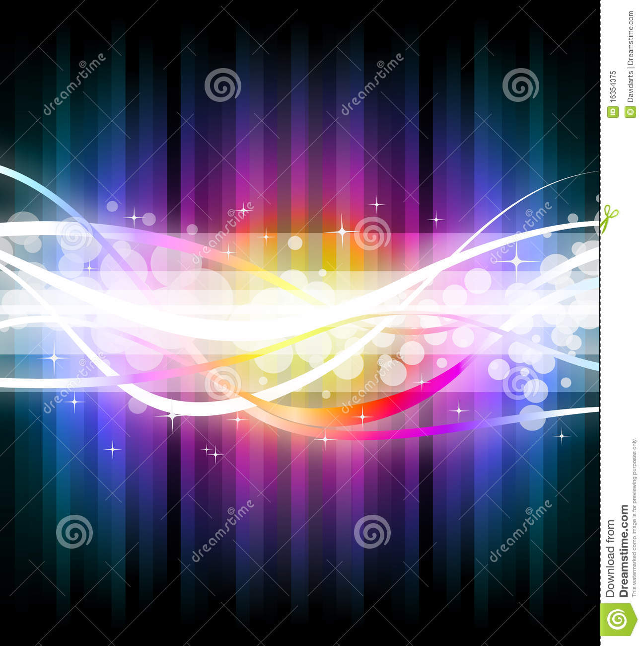 Colorful Business Background For Flyers Royalty Free Stock