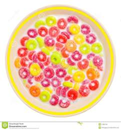 colorful cereal and milk on a white bowl [ 1300 x 1390 Pixel ]