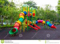 Colorful Children Playground Stock Photo - Image: 33553290