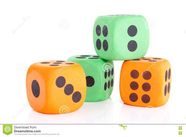 Colorful Dice Stock - 14503581