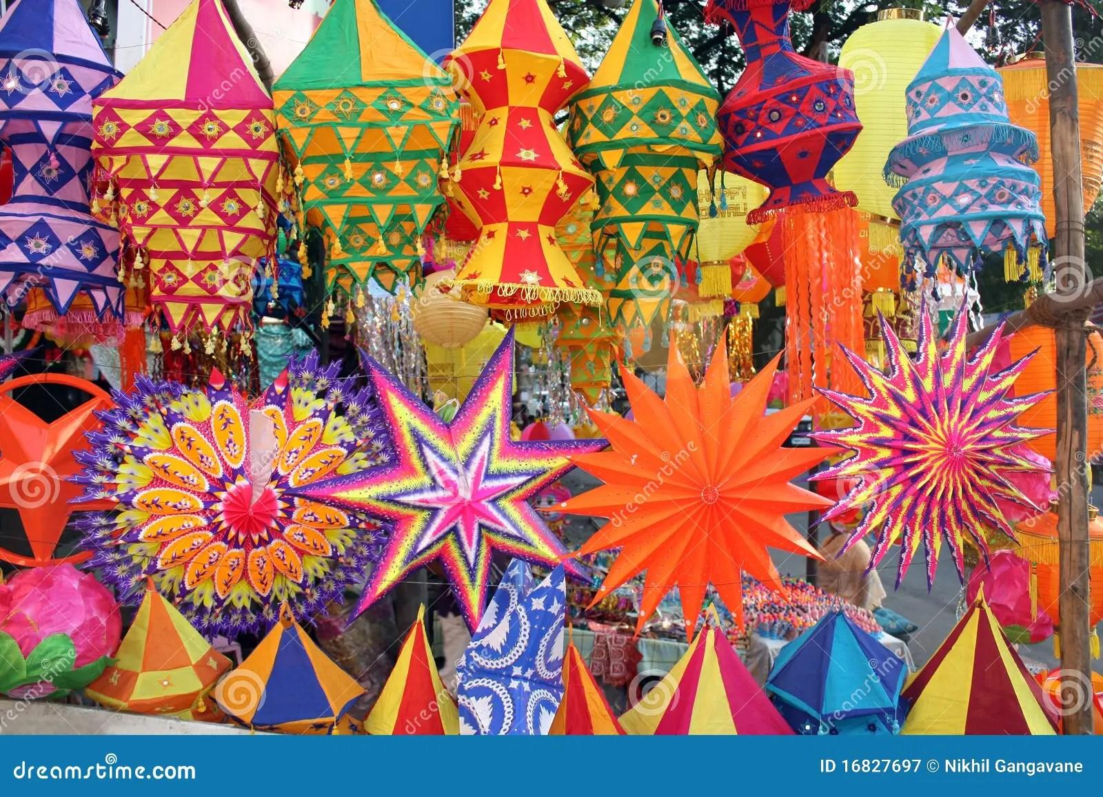 Colorful Diwali Lanterns Royalty Free Stock Photography  Image 16827697