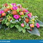 All Saints Day Flower Arrangements Flowers For Graveyard And Funeral Stock Photo Image Of Blossom Field 150691152