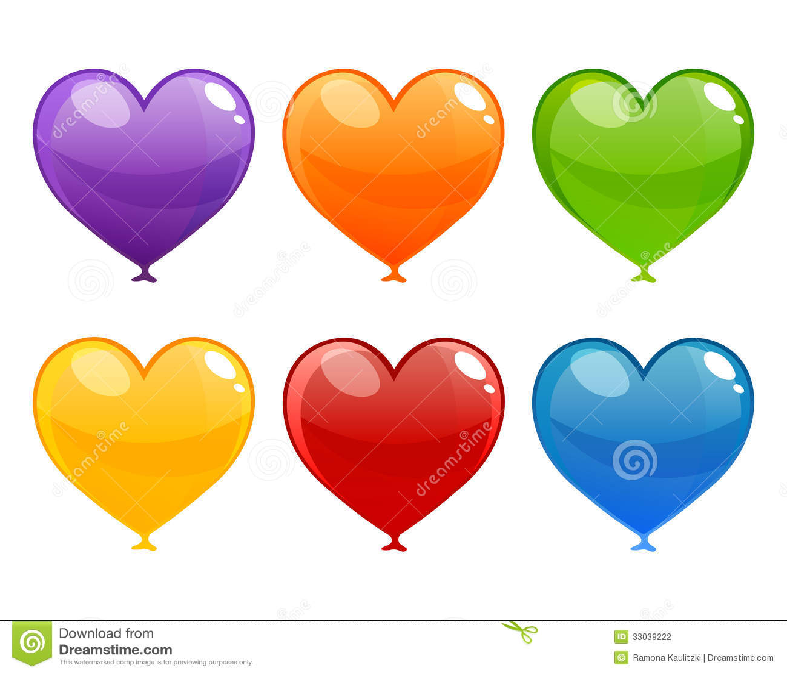 Objects Shaped Hearts