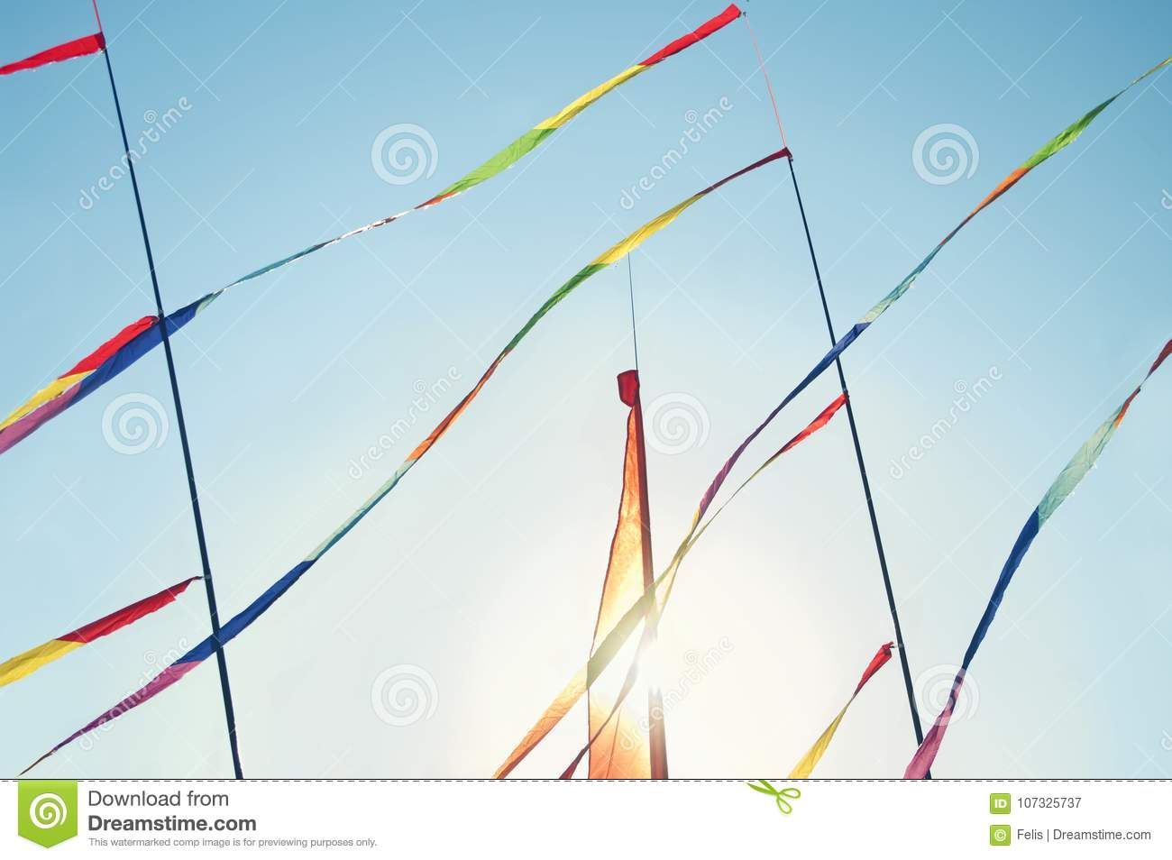 hight resolution of colorful kites flying in wind background