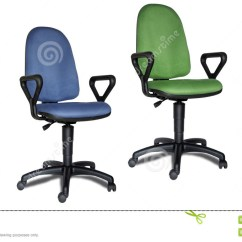 Colorful Desk Chairs Mini Electric Chair Office Stock Photo Image Of Green 1044952