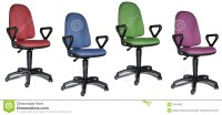 Colorful Office Chairs Stock Photography - Image: 1044952