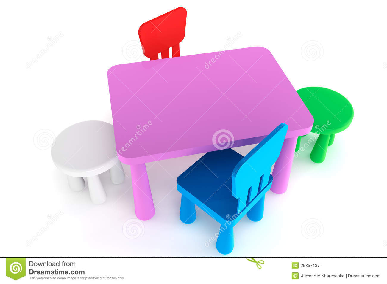 lifetime plastic chairs philippines galvanized steel chair rail colorful kid and table royalty free stock