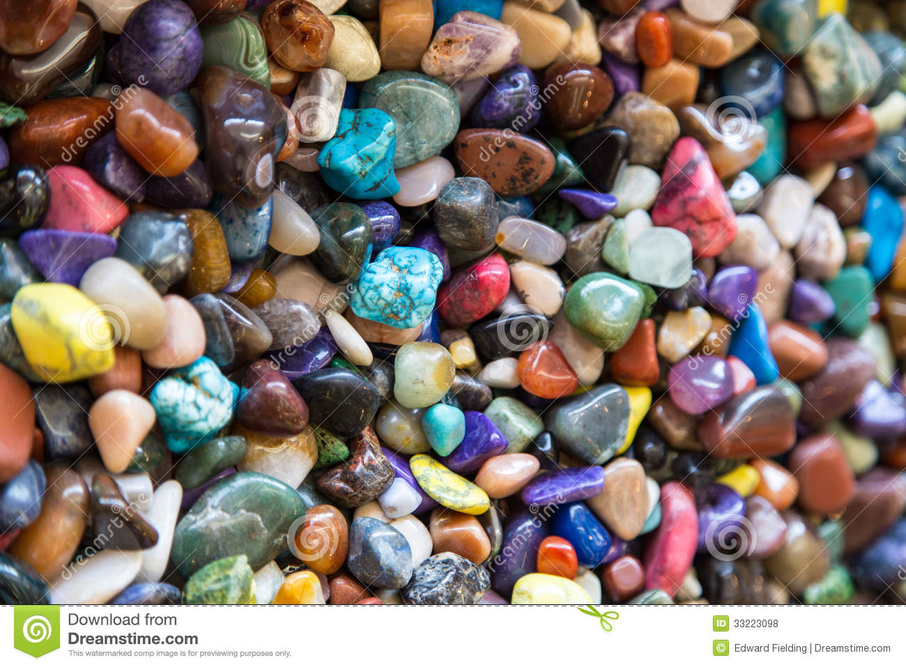 Colorful Rocks Royalty Free Stock Photos  Image 33223098