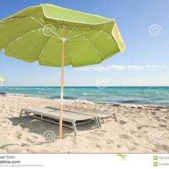 Beach Chairs And Umbrella Sling Chair Colorful South Lounge Royalty