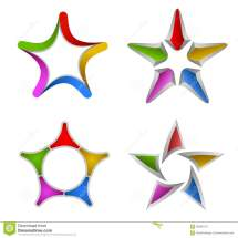 Colorful Star Designs