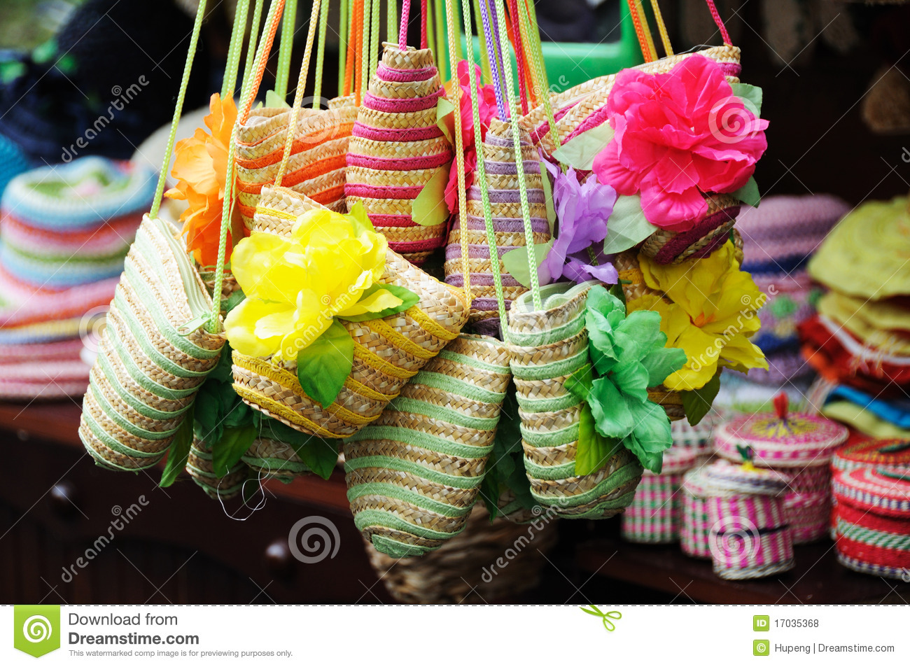 Colorful Straw Handicrafts In Chengdu Jinli Street Royalty Free Stock Photos Image 17035368