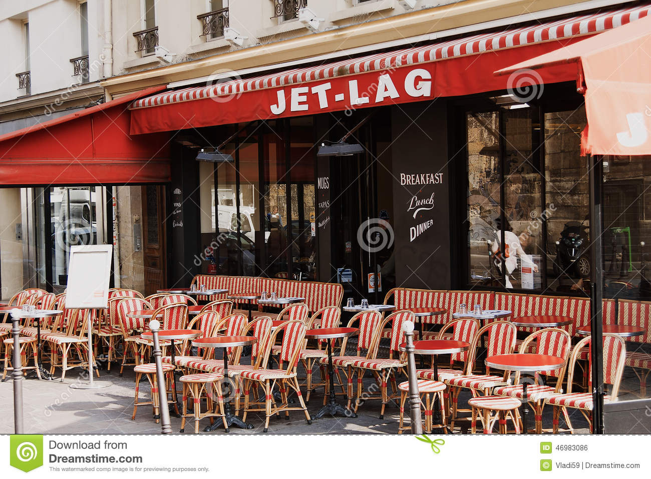 paris cafe chairs purple velvet vanity chair colorful tables and in sidewalk france