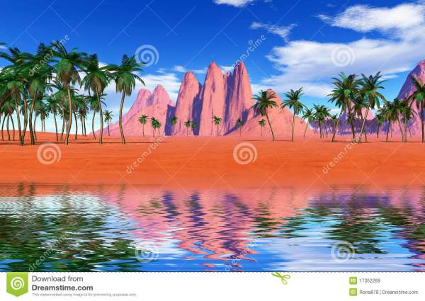 colorful tropical landscape royalty