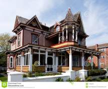 Colorful Victorian House
