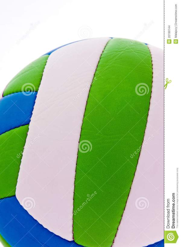 Colorful Volleyball Stock - 20199144