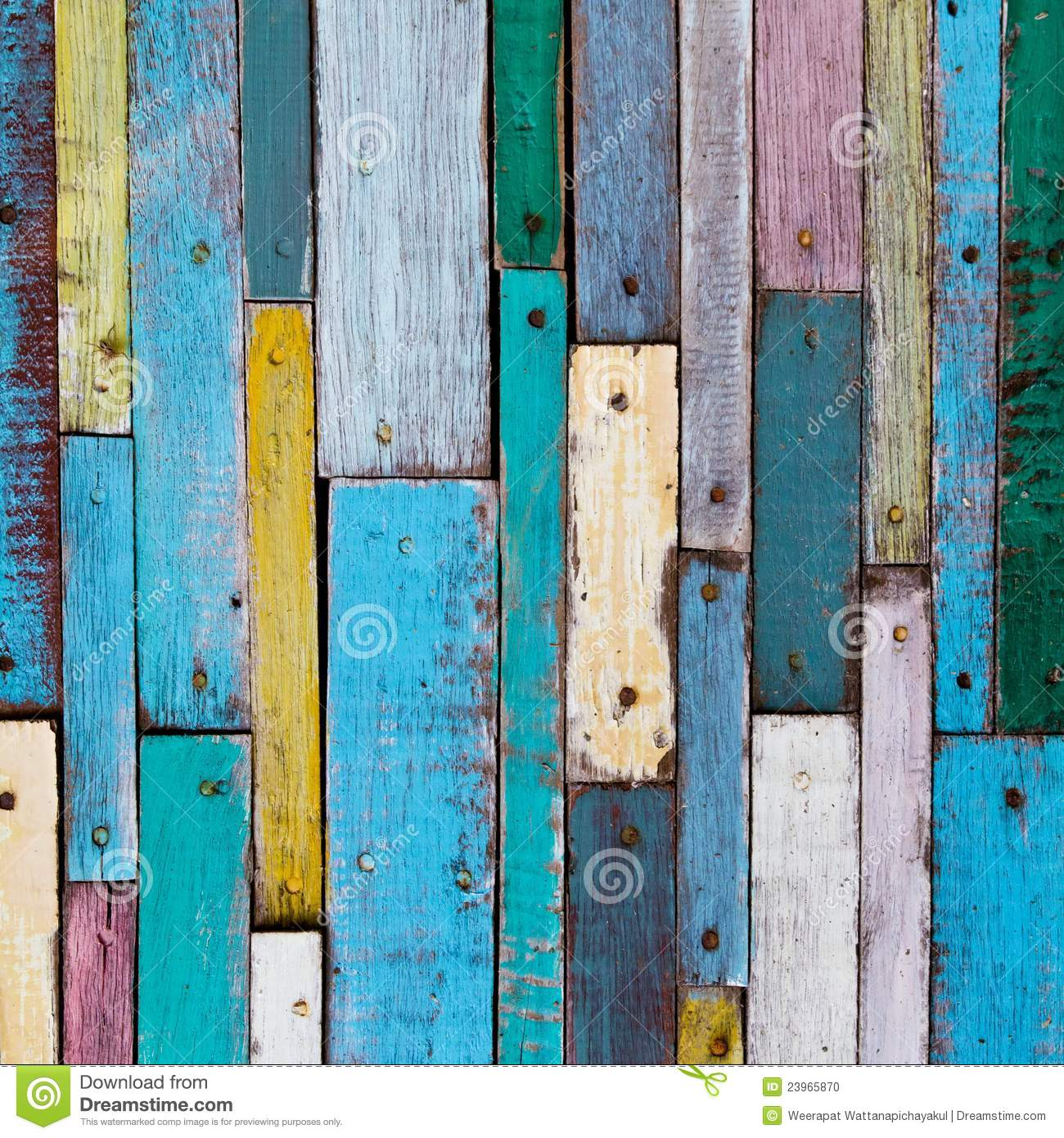 Colorful Wood Stock Photo  Image 23965870