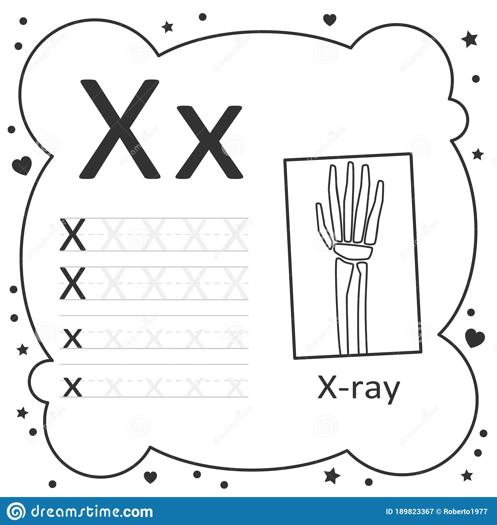 Coloring Alphabet Tracing Letters