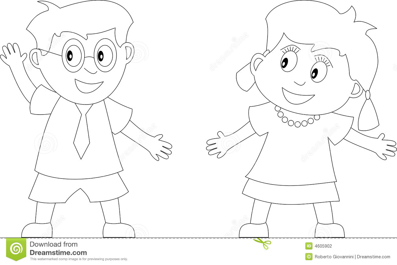 Coloring Book For Kids 1 Stock Illustration Illustration Of Colouring