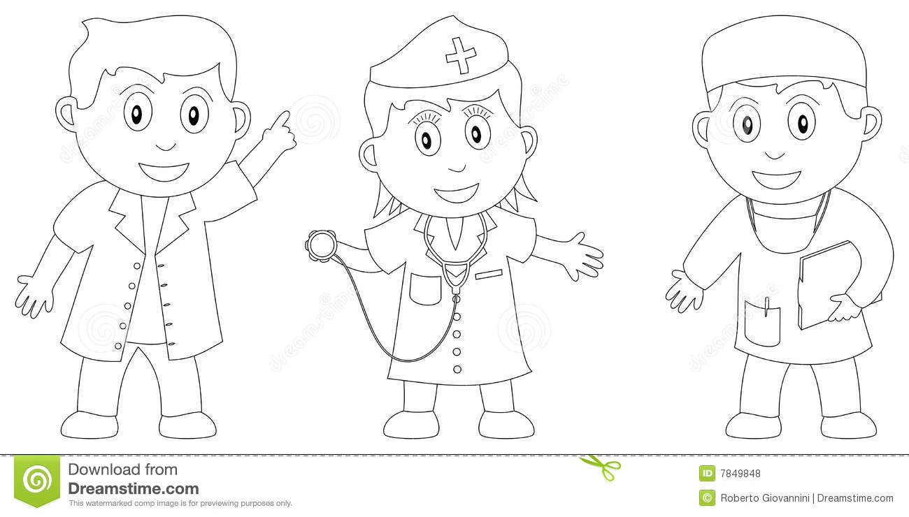 Coloring Book for Kids [6] stock vector. Image of cute