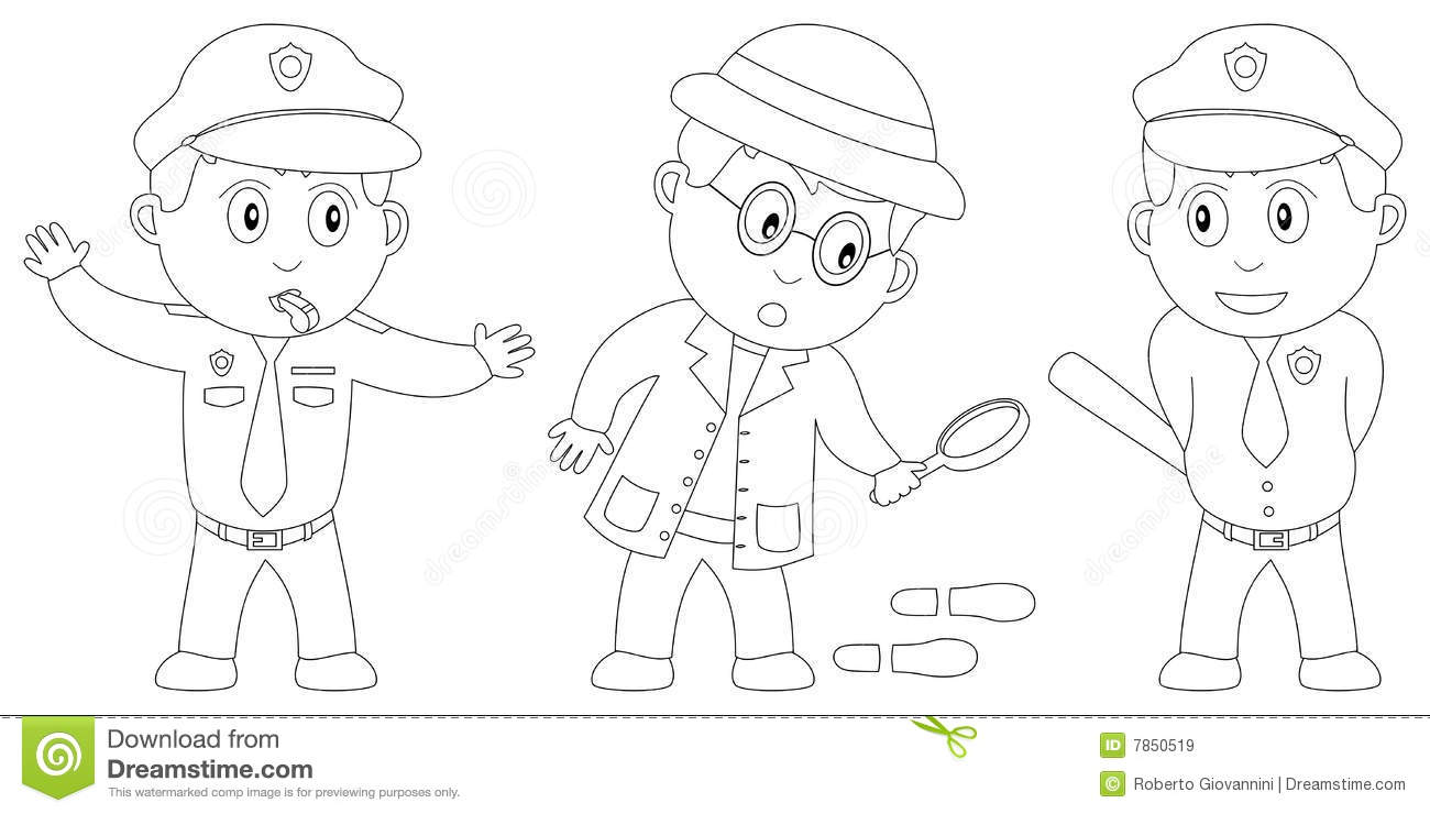 Coloring Book For Kids [8] Royalty Free Stock Images