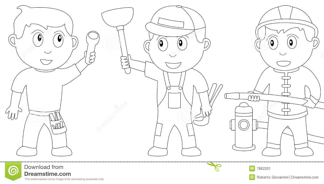 Coloring Book for Kids [9] stock vector. Image of black
