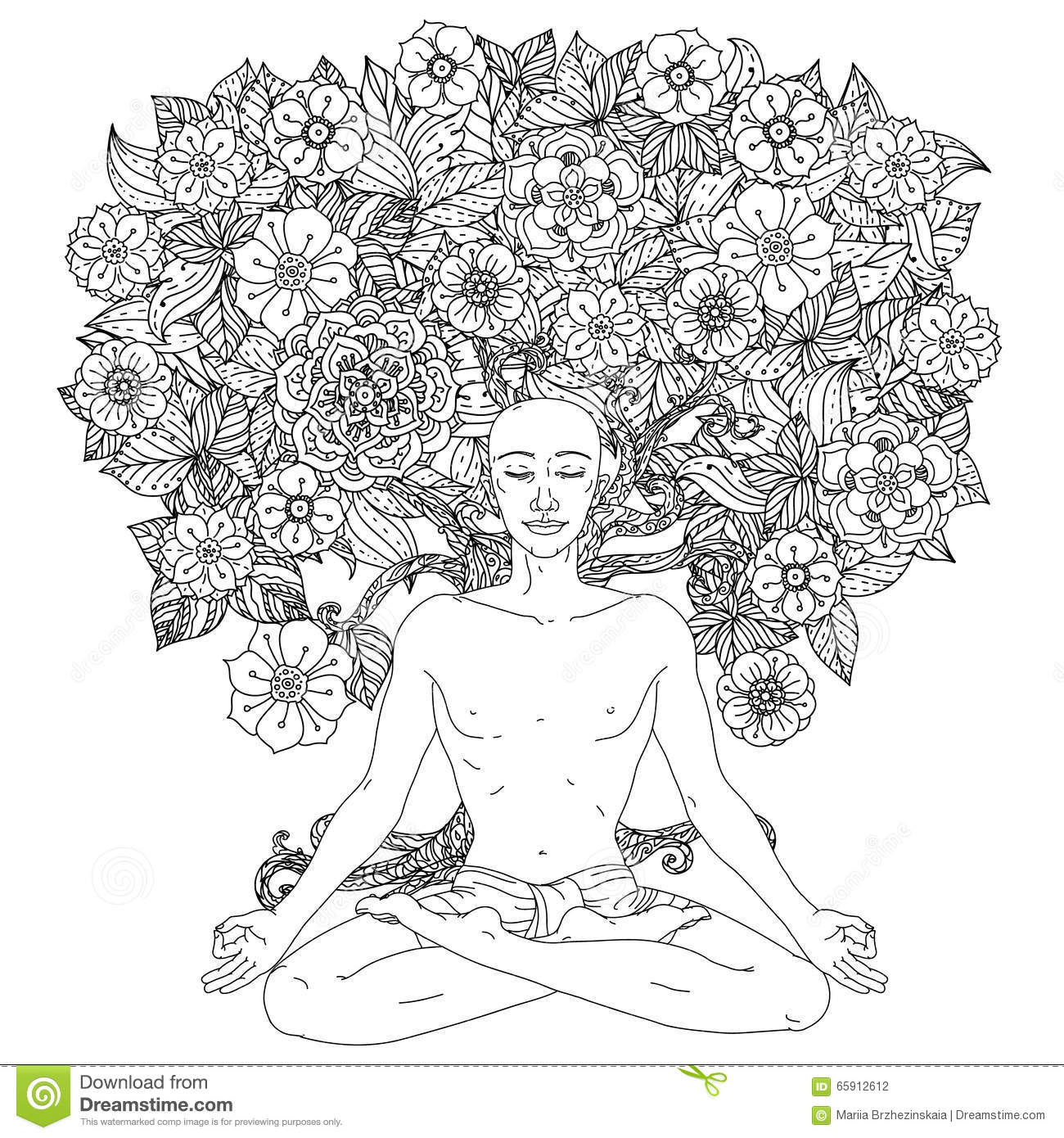 For coloring book stock vector. Illustration of coloring