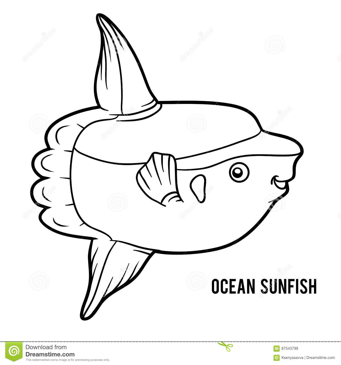 Sunfish Cartoons, Illustrations & Vector Stock Images