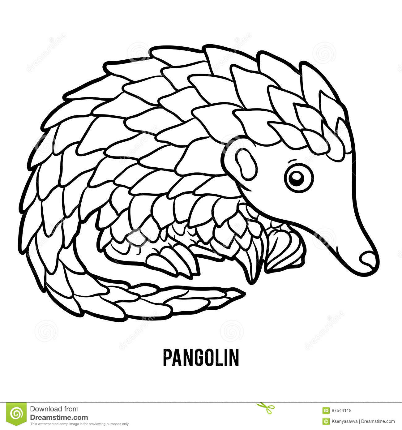 Pangolin Cartoons, Illustrations & Vector Stock Images